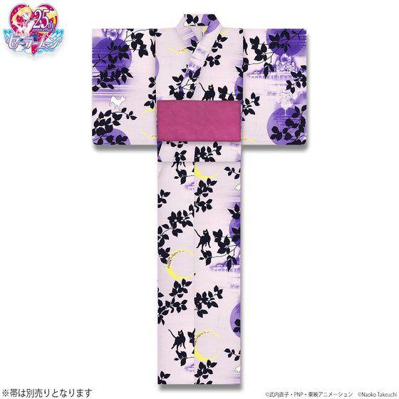 美少女戦士セーラームーン 浴衣 ムーンキャッスル柄(全2色)