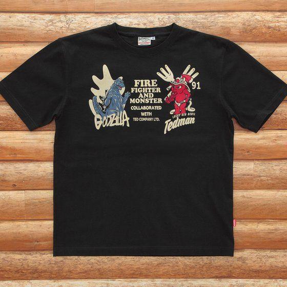 ゴジラ×テッドマンコラボTシャツ