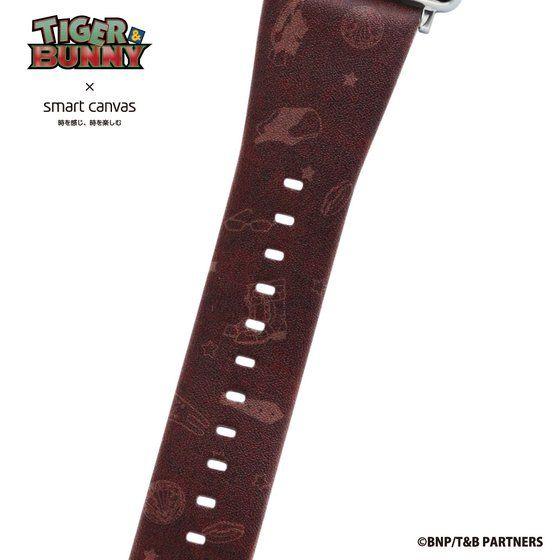 TIGER & BUNNY ×  Smart Canvas (スマートキャンバス) デジタル腕時計【2018年5月発送予定】