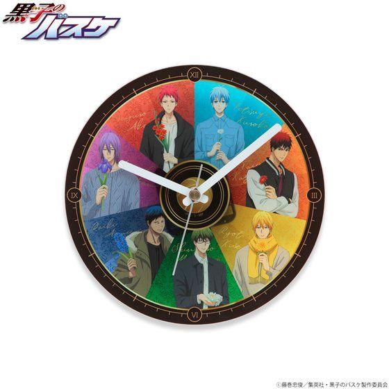 【プレミアムバンダイ限定】黒子のバスケ アクリル掛け時計
