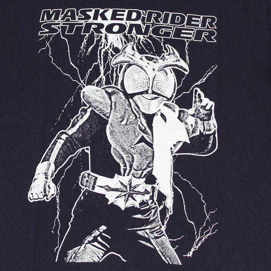 仮面ライダーTシャツ×ノルソルマニア コラボTシャツ 仮面ライダーストロンガー柄