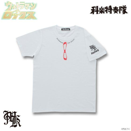 Musikleidung ウルトラマン・ザ・ロックス Tシャツ ウルトラアイ 白 【3次受注3月発送分】
