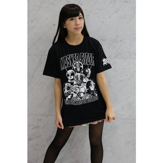 仮面ライダー×ノルソルマニア コラボTシャツ(7人ライダー柄)