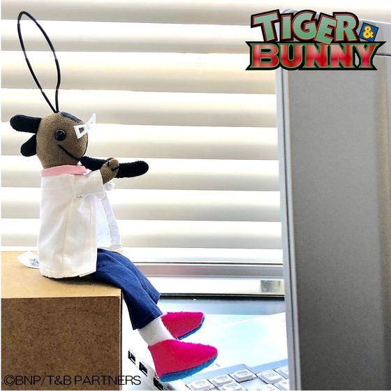 TIGER & BUNNY ココペリ人形チャーム 斎藤さん