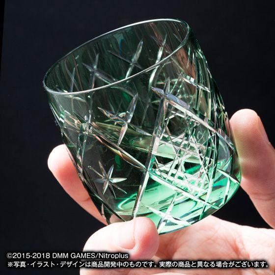 刀剣乱舞-ONLINE-×江戸切子 ミニグラス -弐-