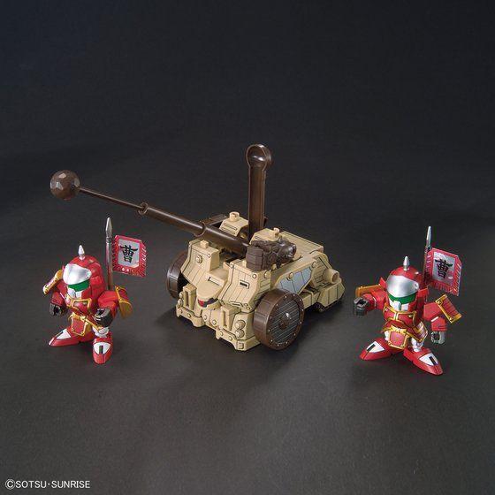 BB戦士410 典韋アッシマー カクアシュタロン 攻城兵器セット&合体武装6種(甲)