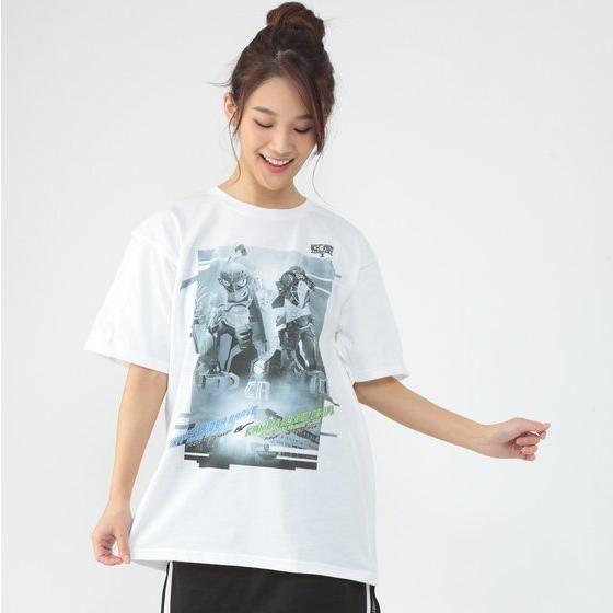 仮面ライダーエグゼイド トリロジー柄Tシャツ(モノトーン)仮面ライダーブレイブ&スナイプ