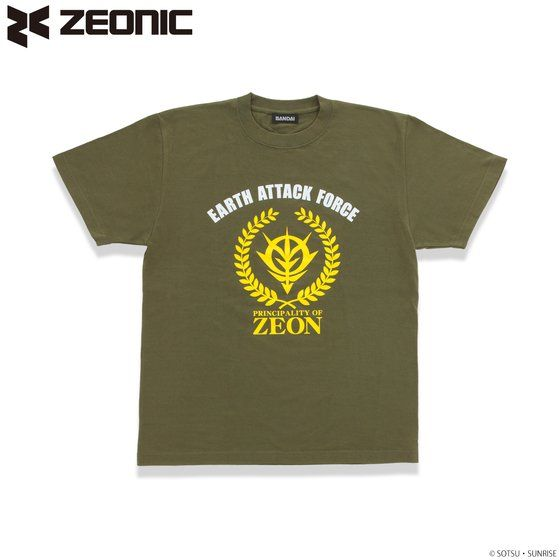 機動戦士ガンダム ジオン公国地球方面軍 Tシャツ