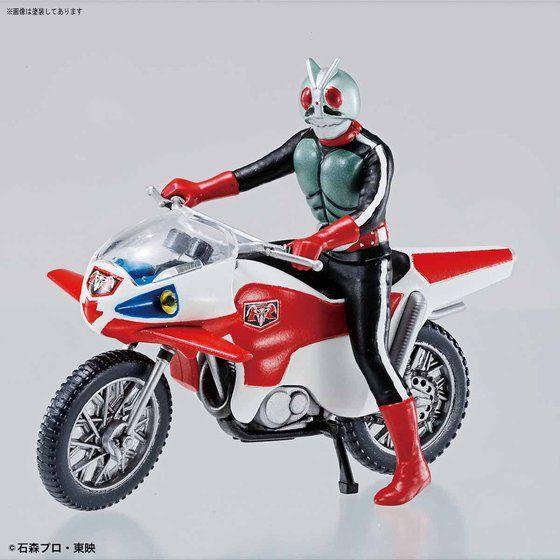 メカコレクション 仮面ライダーシリーズ 新サイクロン号&仮面ライダー新2号