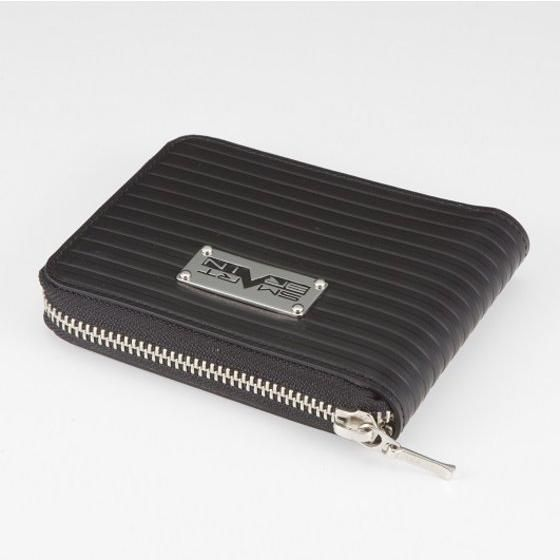 仮面ライダー555(ファイズ) SMART BRAIN 本革ラウンド二つ折り財布