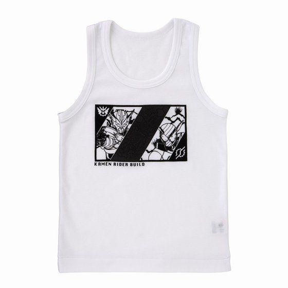 仮面ライダービルド カラチェンインナー袖なしシャツ2枚組