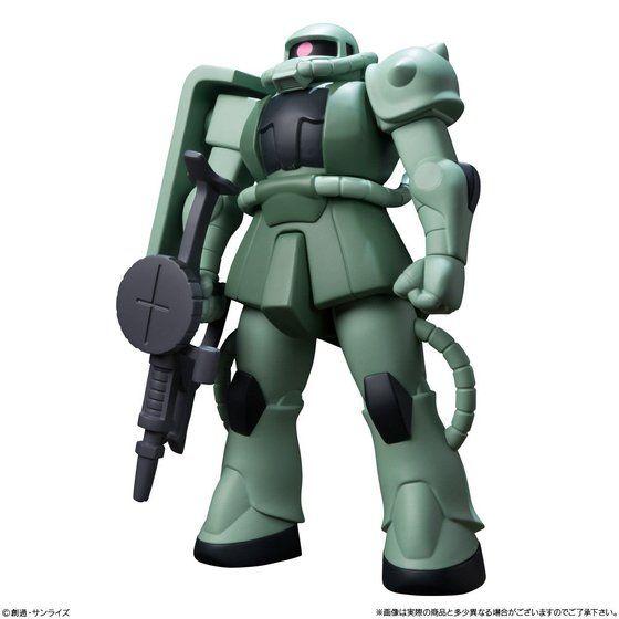 DXソフビスーツガンダム「ガンダム/量産型ザク」