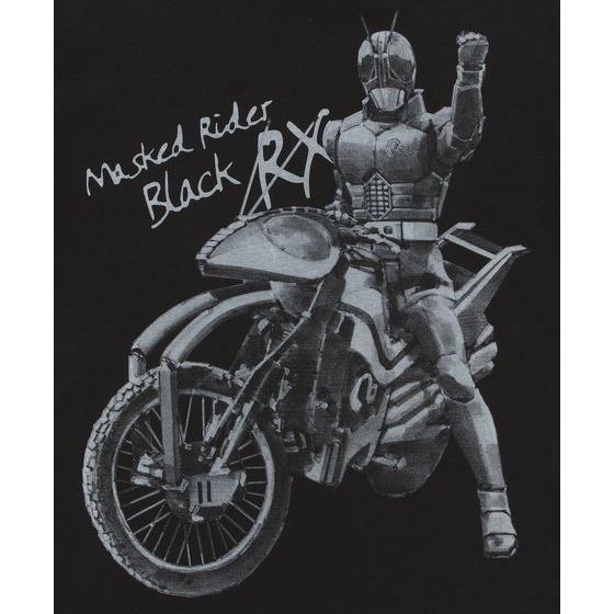 菅原芳人計画 仮面ライダーBLACK RX 30周年記念Tシャツ