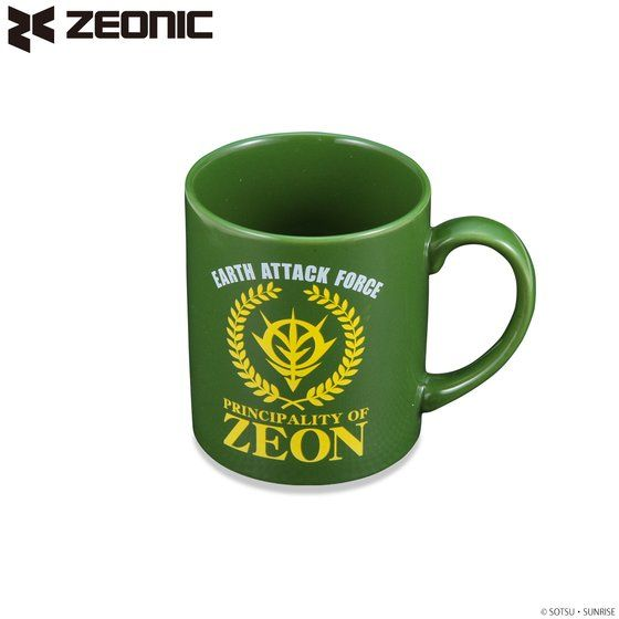機動戦士ガンダム ジオン公国地球方面軍 マグカップ 【2018年6月発送】
