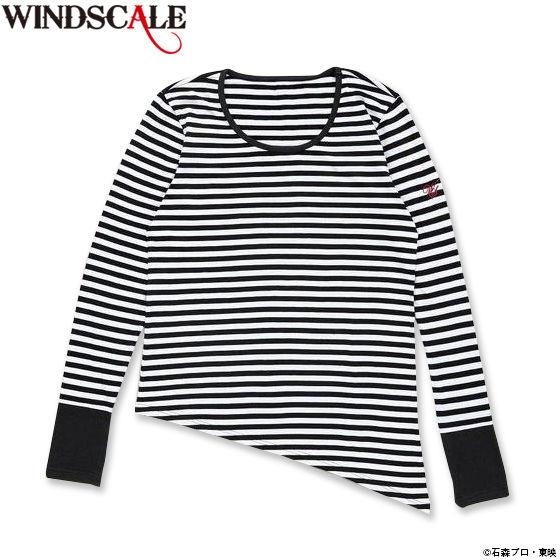 仮面ライダーW WIND SCALE フィリップ長袖Tシャツ(ボーダー)