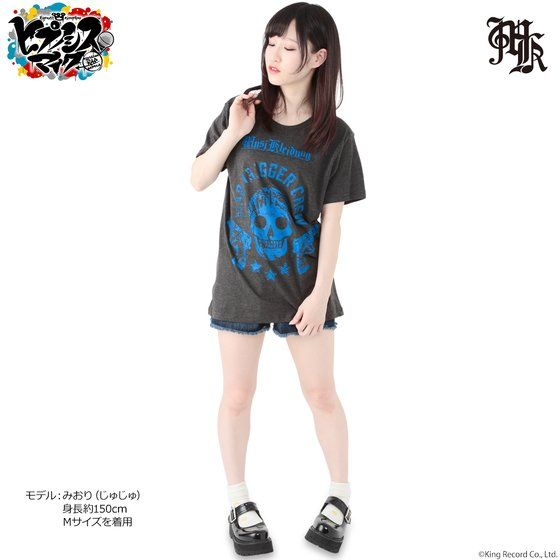 Musikleidung ヒプノシスマイク Tシャツ MAD TRIGGER CREW