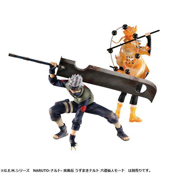 G.E.M.シリーズ NARUTO-ナルト- 疾風伝 はたけカカシ 忍界大戦Ver.