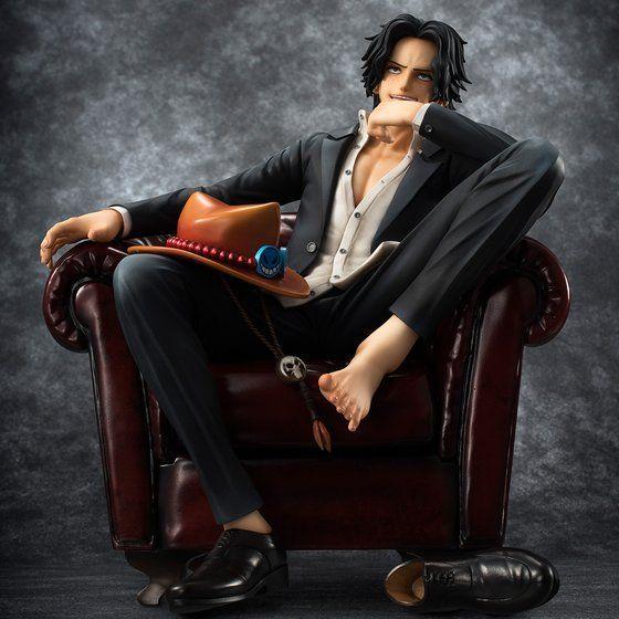 """【抽選販売】Portrait.Of.Piratesワンピース""""S.O.C"""" ポートガス・D・エース"""
