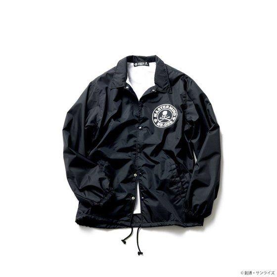 STRICT-G×mastermind JAPAN コーチジャケット シャア・マーク柄
