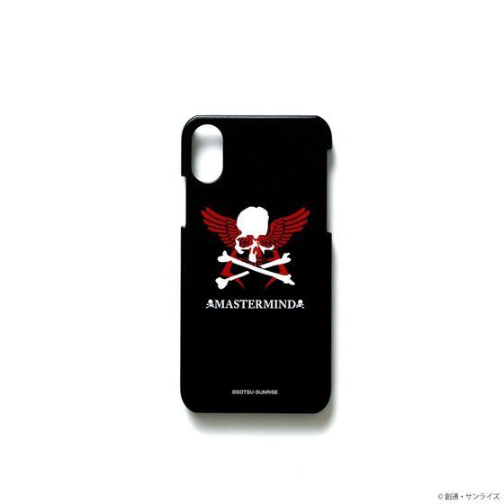 STRICT-G×mastermind JAPAN iPhone Xケース シャア・マーク柄