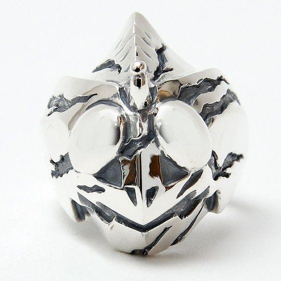 仮面ライダーアマゾンズ×haraKIRI silver925 フェイスリング【大きいサイズ】