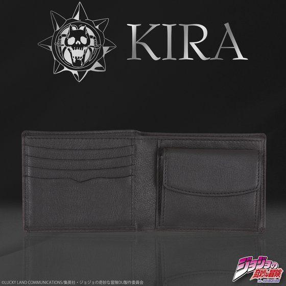 吉良吉影 KIRA's レザーウォレット(二つ折り財布)【2018年9月発送分】