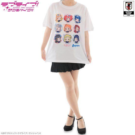 ラブライブ!サンシャイン!! Tシャツ サッカー日本代表ver.