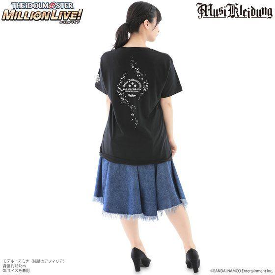 Musikleidung アイドルマスター ミリオンライブ! Tシャツ トゥインクルリズム