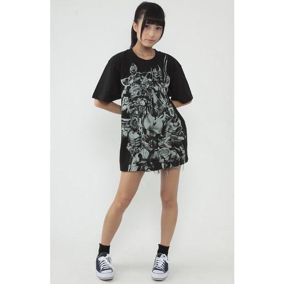 仮面ライダー龍騎×菅原芳人計画 ミラーワールドTシャツ