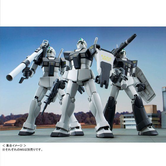 MG 1/100 ジム (ホワイト・ディンゴ隊仕様)