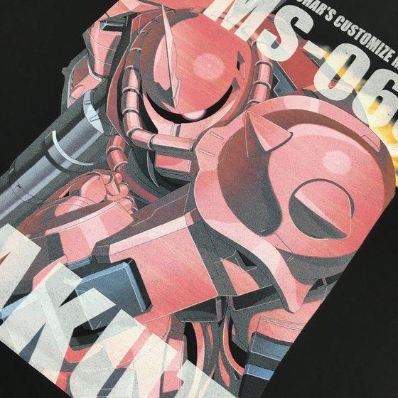 機動戦士ガンダム フルカラー Tシャツ MS-06S シャア専用ザク【2018年8月発送】