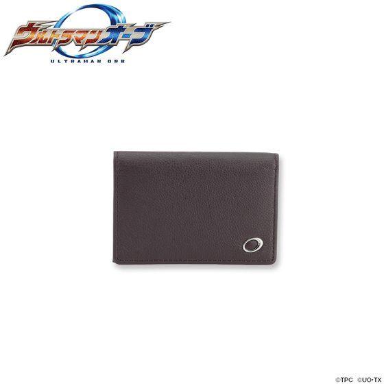 ウルトラマンオーブ 本革カードケース