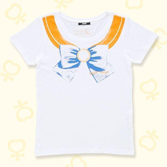 美少女戦士セーラームーン なりきりセーラーTシャツ(セーラーヴィーナス柄)