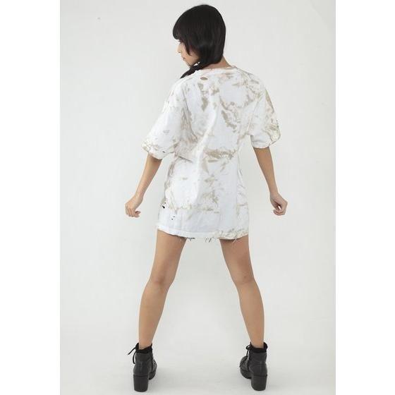 仮面ライダービルド ダメージTシャツ 万丈龍我モデル