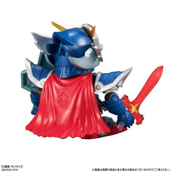 ガシャポン戦士f EX05 フルアーマー騎士ガンダム&モンスターブラックドラゴン