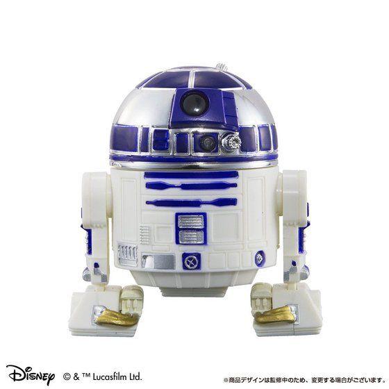 Qドロイド スター・ウォーズ C-3PO&R2-D2 映画公開記念 メッキカラーver.