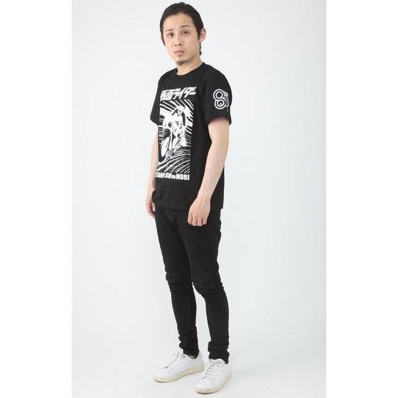 石ノ森章太郎生誕80周年記念 仮面ライダー×ノルソルマニア Tシャツ バイク柄