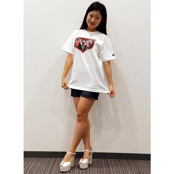 仮面ライダー×ノルソルマニア コラボTシャツ(立花レーシングクラブマーク柄)紺・白