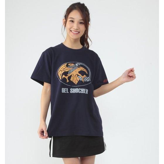 仮面ライダーTシャツ×ノルソルマニア コラボTシャツ(ゲルショッカーマーク柄)
