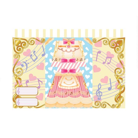 アイカツフレンズ! カードつきドレスレター Sugar Melody&MATERIAL COLOR