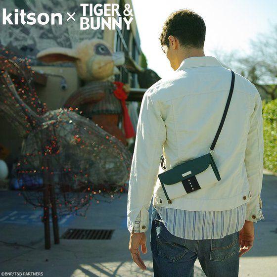 kitson × TIGER & BUNNY サコッシュ ※オリジナルハンカチ付き【2018年12月発送予定】