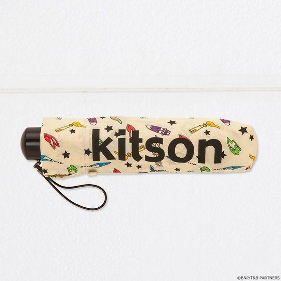 kitson × TIGER & BUNNY 晴雨兼用 折りたたみ傘 ※オリジナルハンカチ付き【2018年12月発送予定】