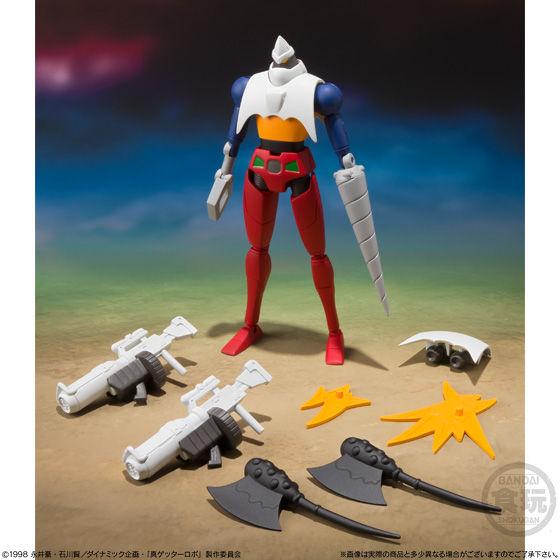スーパーミニプラ  真(チェンジ!!)ゲッターロボ Vol.1