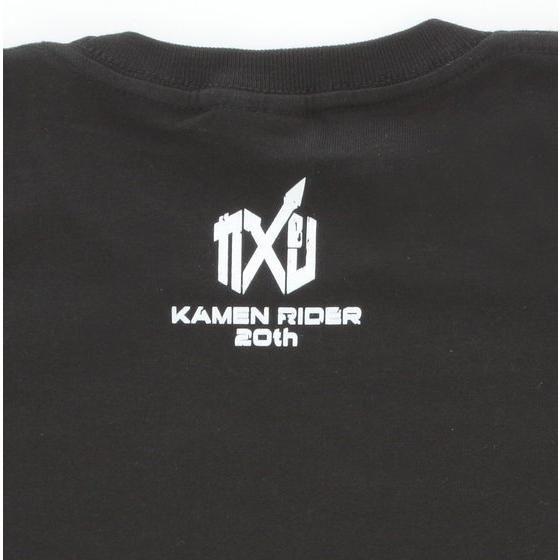 仮面ライダージオウ&平成仮面ライダー Tシャツ マーク柄 ブラック こども用