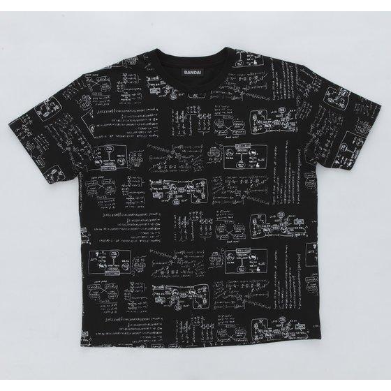 仮面ライダービルド 黒板柄 Tシャツ