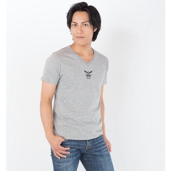 仮面ライダークウガ クウガマークTシャツ(メランジグレー)