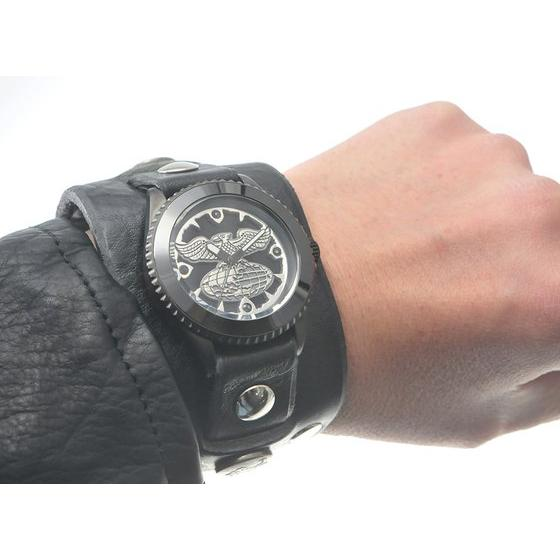 仮面ライダー ショッカー × Red Monkey Collaboration Wristwatch Silver925 High-End model 2015