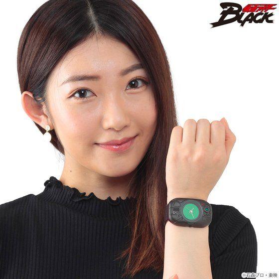 仮面ライダーBLACK 変身!腕時計【Live Action Watch 】