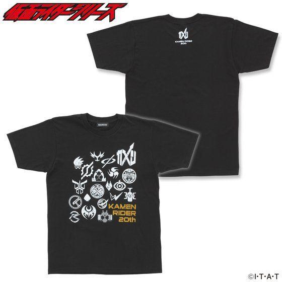 仮面ライダージオウ&平成仮面ライダー Tシャツ マーク柄