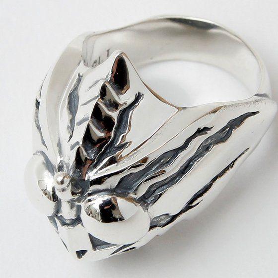 仮面ライダーアマゾンズ×haraKIRI silver925 フェイスリング